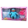 Кукла Пупс Наша Игрушка с люлькой и аксессуарами (F12107BD), купить за 1 075руб.
