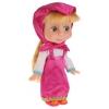 Кукла интерактивная Карапуз Маша и Медведь Маша с набором для чаепития, 25 см, 83033T, купить за 1 360руб.