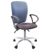 Кресло офисное Chairman 9801 grey/blue (1102198), купить за 5 290руб.