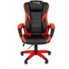 Компьютерное кресло Chairman game 22  (7023923), черный/красный, купить за 8 485руб.