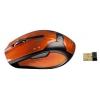 Мышь Hama H-52390 Optical Mouse, оранжево-черная, купить за 845руб.