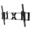 """Tuarex OLIMP-8002 черный 37""""-63"""" макс.80кг настенный наклон, купить за 1 360руб."""