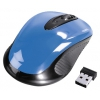 мышка Hama AM-7300 sky-blue USB, голубая