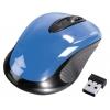 Мышку Hama AM-7300 sky-blue USB, голубая, купить за 655руб.