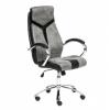 Компьютерное кресло Tetchair GLOSS, серый/черный, 45, купить за 9 990руб.