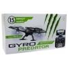 Квадрокоптер 1toy GYRO-Predator 2,4GHz с Wi-Fi камерой 480p, летает 15 минут, 17х17см, купить за 4 960руб.