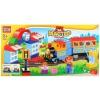 Конструктор Город мастеров (LL-1028-R) Железная дорога, большие кубики, купить за 2 730руб.