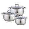 Набор посуды для готовки WEBBER BE-616/6 6пр (2.1 л, 2.9 л, 3.9 л), купить за 2 240руб.
