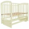 Детская кроватка Малика Sona-2 (маятник), слоновая кость, купить за 7 690руб.