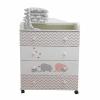 By Twinz Мэри, пеленальный, серый-розовый, купить за 5 590руб.