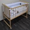 Детская кроватка Массив Беби-1, светлая, купить за 2 580руб.