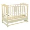 Детская кроватка Ведрусс Лана-2, слоновая кость, купить за 5 720руб.