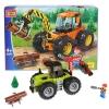 Конструктор Город мастеров (LL-5037-R) Трактор-лесоруб, 183 детали, купить за 1 015руб.