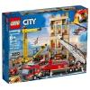 Конструктор LEGO 60216 Город Пожарные, Центральная пожарная станция, купить за 5 680руб.