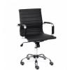 Кресло офисное Tetchair URBAN-LOW кож/зам, черный, купить за 6 690руб.