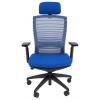 Кресло офисное Chairman 285 синий (7022885), синее, купить за 11 916руб.