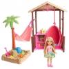 Куклу Barbie Челси и хижина из серии Путешествия, FWV24, купить за 2420руб.