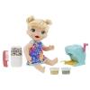Куклу Hasbro Baby Alive Малышка и макароны, 33 см, E3694, купить за 1680руб.