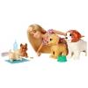 Кукла Набор Mattel Barbie (FXH08) Барби и щенки, купить за 2 885руб.