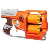 Оружие игрушечное Бластер Hasbro Nerf Зомби Страйк Переворот (A9603), купить за 2 260руб.