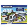 Конструктор Голубая стрела Железная дорога 87196 Скоростной экспресс (888 деталей), купить за 3 230руб.