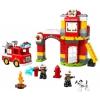 Конструктор LEGO Duplo 10903 Пожарное депо (для мальчика), купить за 3 860руб.