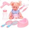 Кукла Наша игрушка Путешественница 35 см (9 аксессуаров), купить за 2 715руб.