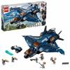 Конструктор Lego (76126) Супер Герои Модернизированный квинджет Мстителей (838шт), купить за 6 299руб.