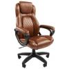 Кресло офисное Chairman 432 Россия экопремиум коричневая N 7028643, купить за 8 585руб.