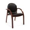 Кресло офисное Chairman 659 PU3816-12 черный глянцевый 6051366, купить за 4 585руб.