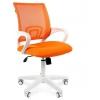 Кресло офисное Chairman 696 белый пластик TW-16/TW-66, оранжевый 7014838, купить за 4 220руб.