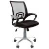Кресло офисное Chairman 696 Silver TW черный (7027371), купить за 4 510руб.