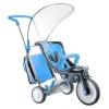 Трехколесный велосипед 3 в 1 Italtrike Evolution, синий, купить за 7 500руб.