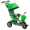 Трехколесный велосипед RT Galaxy Лучик с капюшоном, зелёный, купить за 4 530руб.
