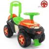 Товар для детей Каталка-толокар RT Автошка с музыкальным рулем, зелено-оранжевая Винкс, купить за 2 640руб.