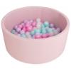 Игровой комплекс Сухой бассейн Romana Airpool ДМФ-МК-02.53.01, розовый/розовые шарики, купить за 3 555руб.