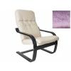Кресло мягкое Мебель Импэкс Сайма МИ каркас венге, ткань Лаванда, купить за 8 440руб.