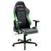 Игровое компьютерное кресло DXRacer Drifting OH/DH73/NE, черно-зеленое, купить за 28 990руб.