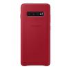 Чехол для смартфона Samsung для Samsung Galaxy S10+ Leather Cover красный, купить за 2415руб.