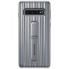 Чехол для смартфона Samsung для Samsung Galaxy S10 Protective Standing Cover, серебристый, купить за 1800руб.