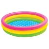 Бассейн надувной Intex Sunset Glow Three Ring 57412 Радуга (3 кольца), купить за 400руб.