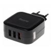 Зарядное устройство Buro TJ-285B QC3 черное, купить за 775руб.