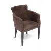 Кресло мягкое TetChair Knez  Венге, экокожа - коричневый / Антик (Monaco 300), купить за 9 390руб.