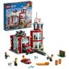 Конструктор LEGO City 60215 Пожарное депо (для мальчика), купить за 4 060руб.