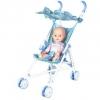 Кукла Пупс Наша Игрушка (M7506-1C) 35 см в коляске, купить за 865руб.