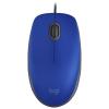 Мышка Logitech M110 Silent USB синяя, купить за 1 155руб.