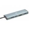 USB концентратор Digma HUB-2U3.0СCR-UC-G серый, купить за 1 065руб.