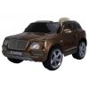 Электромобиль RiverToys Bentley Bentayga JJ2158, коричневый глянец, купить за 19 750руб.