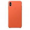 Чехол для смартфона Apple Leather Case для iPhone XS Max - тёплый закат (MVFY2ZM/A), купить за 3575руб.