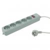 Сетевой фильтр PC Pet (AP01006-3-GR) серый, купить за 360руб.